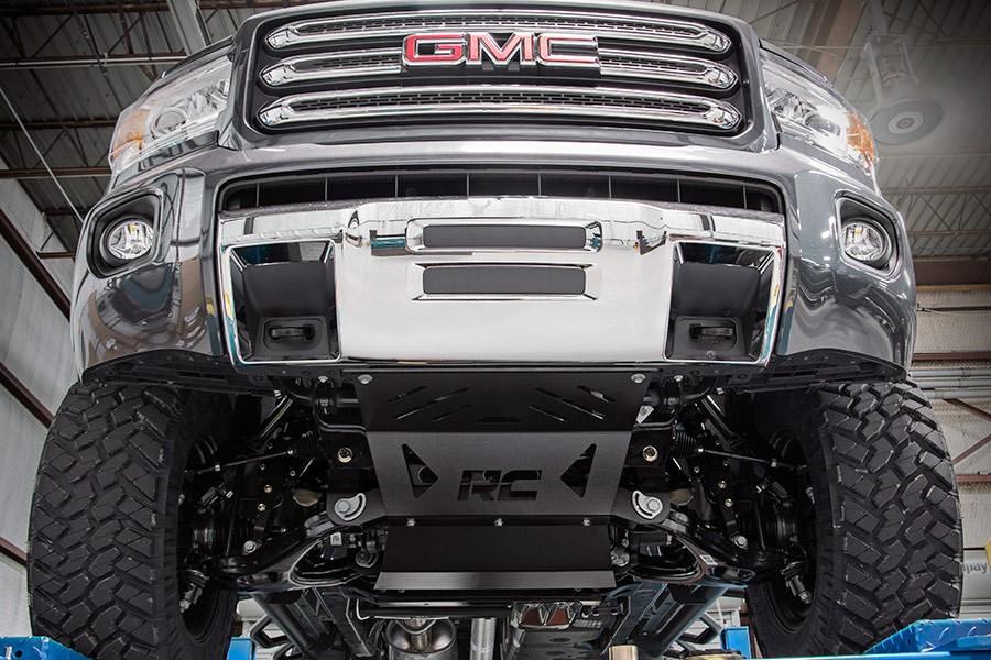 """Jeep Wrangler Unlimited Lift Kit >> 5.00"""" SUSPENSION LIFT KIT CHEVROLET/GMC CANYON/COLORADO 2015/17 4WD MOETEUR GAZ NUMÉRO : 233.20 ..."""